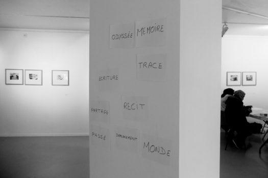 Atelier «Odyssées et mémoires», Centre de formation pour primo-arrivants, Givors, 2017 Stimultania