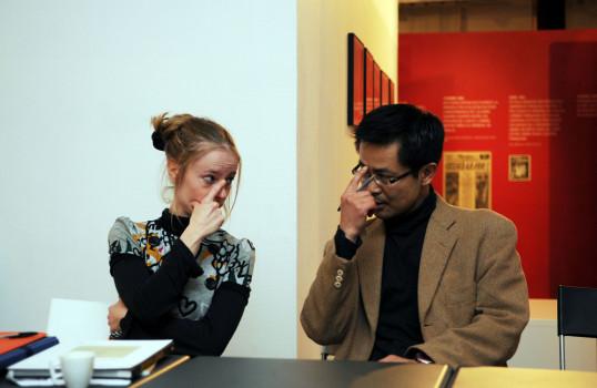 Céline Duval et Naohiro Ninomiya © Bob Fleck