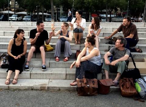 L'équipe de Stimultania, Arles, 2016 © Bob Fleck