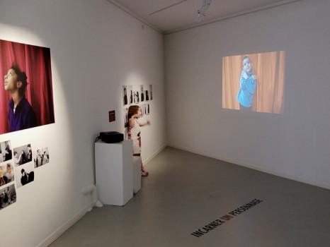 vernissage de l'exposition «faire faces» © Stimultania
