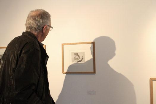 Vernissage de l'exposition «Ici au loin » de Pentti Sammallahti, samedi 11 mars 2017, Givors © Stimultania
