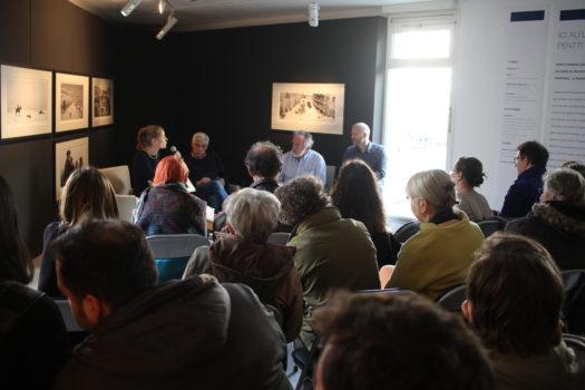 Rencontre avec Pentti Sammallahti et Benoît Rivero, samedi 11 mars 2016, Givors © Stimultania