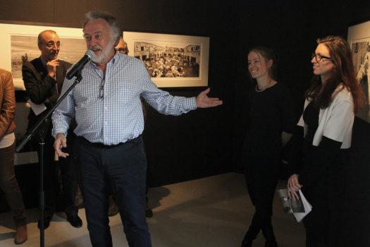 Vernissage de l'exposition «Ici au loin » de Pentti Sammallahti, samedi 11 mars 2017, Givors © Laure Canaple