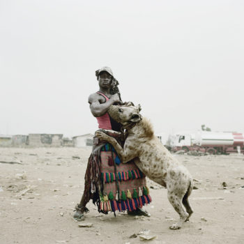 Abdullahi Mohammed, Hyena © Pieter Hugo