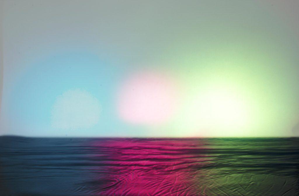 Les trois soleils © Soanne avec Joseph Gallix, hôpital Louis Pradel