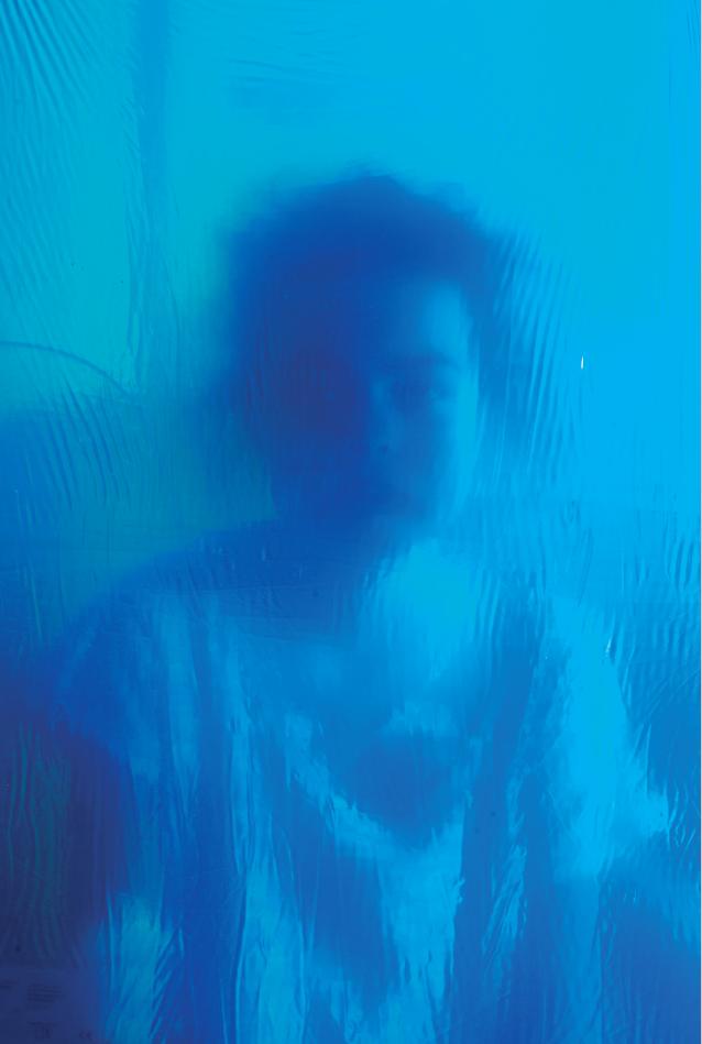 Sous l'eau © Soanne avec Joseph Gallix, hôpital Louis Pradel