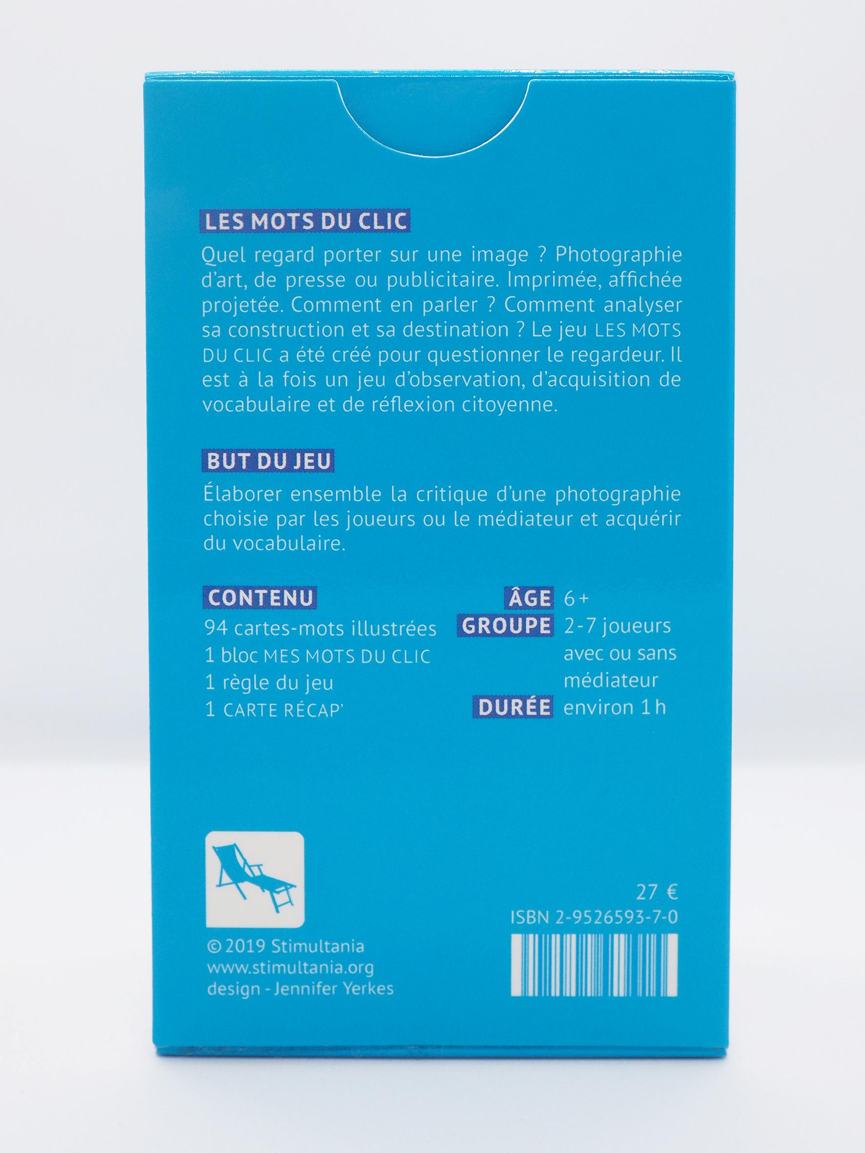 Kit De 4 Jeux Les Mots Du Clic Stimultania