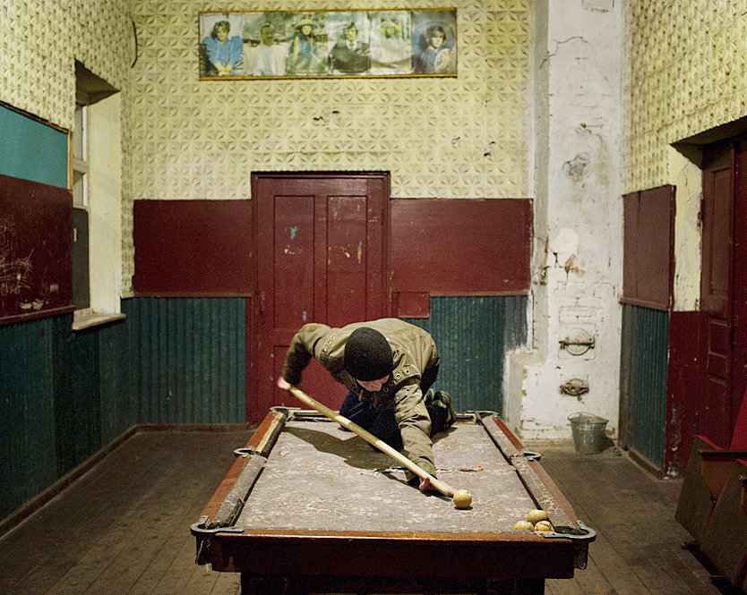 THE ZONE. Chernobyl Zone. The House of Culture. Bazar. © Guillaume Herbaut