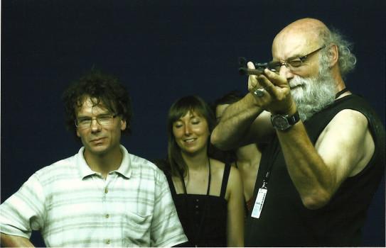 Etienne Andreys, Florie Brunet et au tir photographique Alain Kaiser, Arles 2010