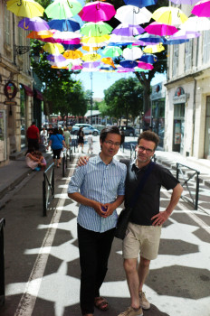 Naohiro Ninomiya et Etienne Andreys © Alain Kaiser