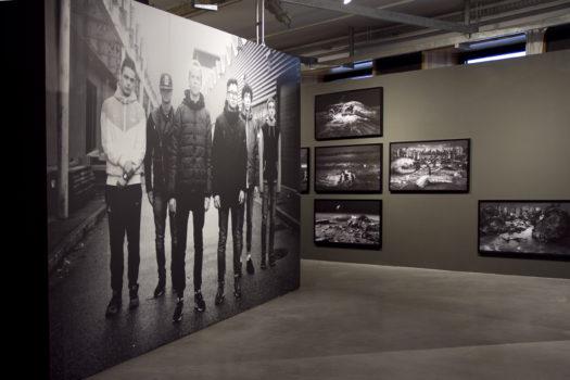 Vue de l'exposition « Dépêche-toi de vivre » © Stimultania, janvier 2018