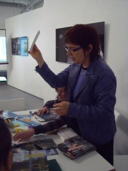 Isabelle Gass, Conseillère pédagogique en Arts Visuels © Stimultania