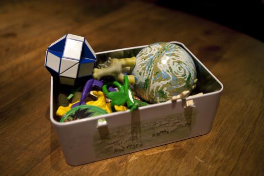 Les boîtes à souvenirs © Marion Pedenon