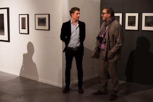 Jan Dotrel, assistant d'Ivan Pinkava et Michael Pospisil, directeur du Centre tchèque © Maxime Faury