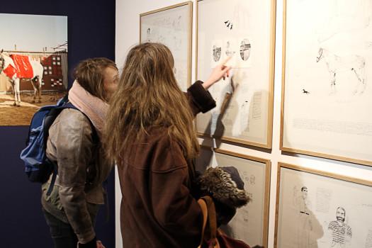 Vernissage de l'exposition, décembre 2016 © Stimultania
