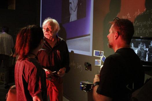Vernissage de l'exposition de Bob Fleck © Stimultania, juin 2017