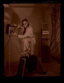 Image scannée, négatif Polapan 55 P/N © Bob Fleck, 1974