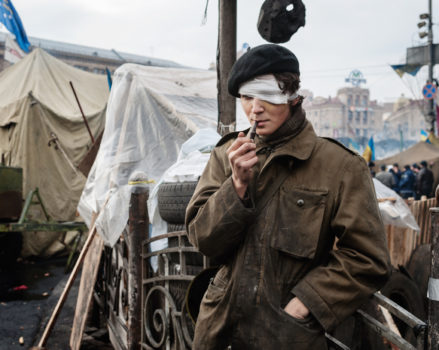 Kiev, 22 février 2014 © Guillaume Herbaut